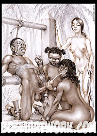 Slaves are made to perform pic 1