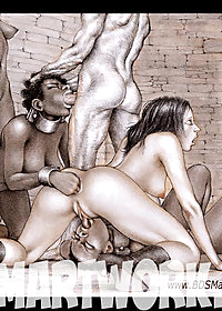 Slaves are made to perform pic 2