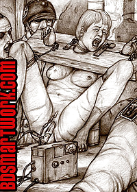 Take her to an isolated cell with a bed pic 4