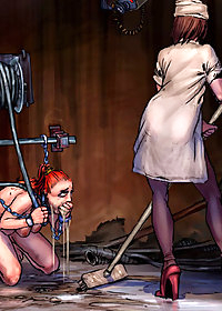 Your own weight helps me to slip the metal probe into your fuckbox pic 3