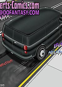 Black van 7 Miami underground by Gary Roberts pic 4